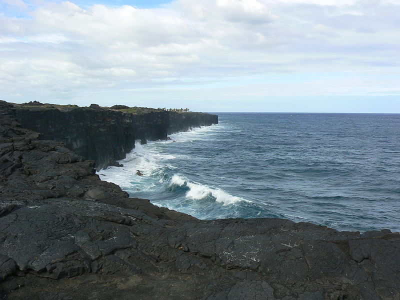 File:Lava on South Coast of Hawaii.JPG