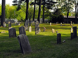 Lawrence Street Cemetery - Image: Lawrence Street Cemetery 2
