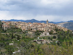 Le Broc, Alpes-Maritimes - A general view of Le Broc