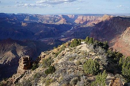 Grand Canyon of Colorado in Arizona (USA).