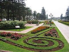 photographie d'un parc de Mohammédia