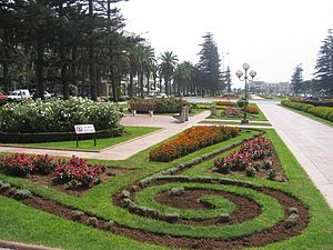 Park dedicated to Mohammedia's twin towns
