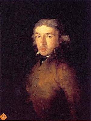 Leandro Fernández de Moratín - Moratín painted by Goya
