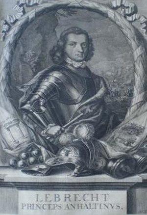 Lebrecht, Prince of Anhalt-Zeitz-Hoym - Lebrecht, Prince of Anhalt-Zeitz-Hoym