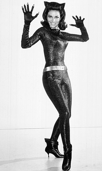 Catsuit - Actress Lee Meriwether as Catwoman in 1966