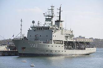 Australian Hydrographic Service - HMAS Leeuwin