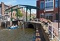 Leiden, de Kerkbrug RM25671 en de stoomdrukkerij RM515045 foto7 2017-06-11 13.12.jpg
