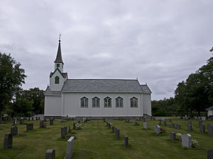 Leka Church - Image: Leka Church