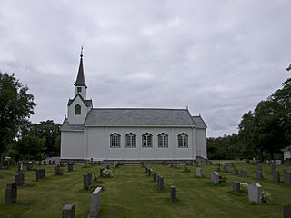 Leka Church Church in Trøndelag, Norway