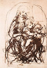 Study for the Madonna of the Cat