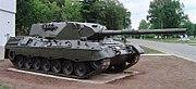 A Leopard C1 tank