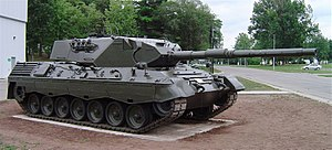 Leopard 1 - Leopard 1A3 (Canadian Leopard C1) at the Base Borden Military Museum