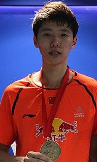 Li Junhui Badminton player