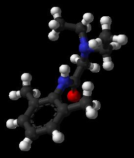 Lidocaine local anesthetic
