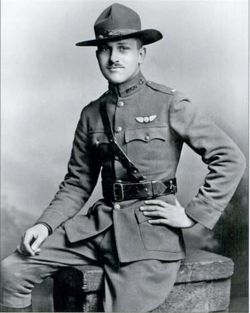 File:Lieutenant Lloyd Andrews Hamilton, 17th Aero Squadron, US Air Service, 1918.tif