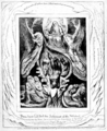 Life of William Blake (1880), Volume 2, Job illustrations plate 16.png
