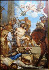 Le martyre de saint Maurice et de ses compagnons