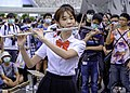 Lily playing her flute at FF36 20200823a.jpg