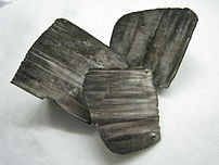Pieces of Lithium metal from the Dennis s.