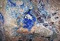 Linarite-galena in limestone (Blanchard Mine, New Mexico, USA) 2 (26595931526).jpg