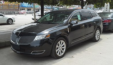 2017 Lincoln Mkx Premiere >> Lincoln MKT - Wikipedia
