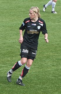 Linnea Liljegärd Swedish association football player