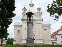 Liškiava church