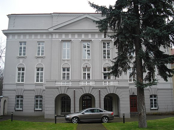 Headquarters of the Lithuanian Bishops' Conference in Vilnius Lithuanian Bishops Conference5.JPG