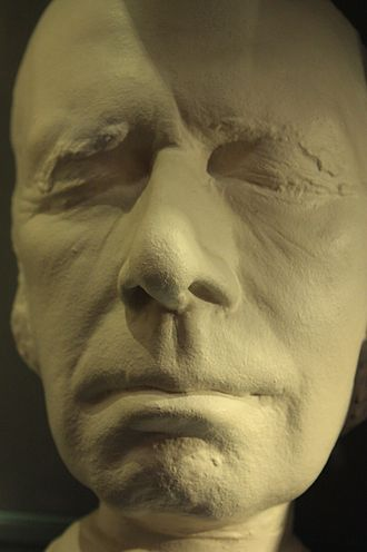 James Hogg - Live head cast of James Hogg, Scottish National Portrait Gallery