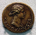 Livia moglie di augusto e madre di tiberio, dupondio, 21-22 dc.JPG