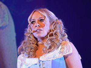 Jeff Wayne's Musical Version of The War of the Worlds - Liz McClarnon as Beth during the 2010 tour