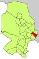 Localització d'El Camp d'en Serralta respecte del Districte de Ponent.png
