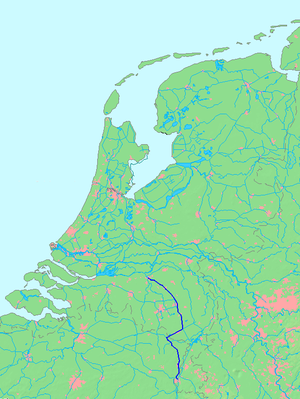 South Willem's Canal - Location of the South Willem's Canal