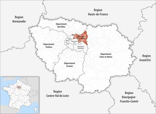 Lage des Seine-Saint-Denis