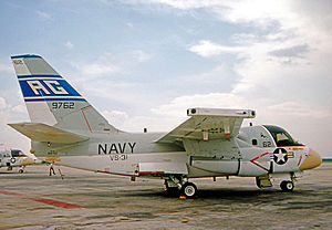 Naval Air Station Cecil Field - Lockheed S-3A Viking of VS-31 at NAS Cecil Field in 1976