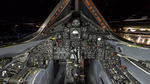 Lockheed SR-71A Blackbird, National Museum of the United States Air Force, Wright-Patterson Air Force Base, near Dayton, Ohio, USA, cockpit, forward view.png