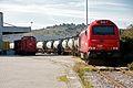 Locomotivas 6003 e 1445, Alverca, 2012.01.08.jpg