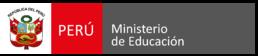 Logo del Ministerio de Educación del Perú - MINEDU.png