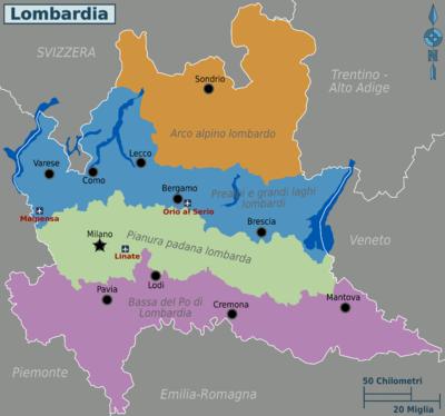 Lombardei Reisef 252 Hrer Auf Wikivoyage