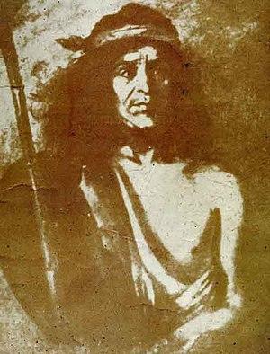 Quilapán - Portrait of Quoilapán ca. 1870