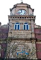 London, Woolwich, Powis St, detail RACS building 01.jpg