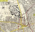 London - Shepherd's Bush - White City - Bacon's Up to Date Map of London 1912.jpg