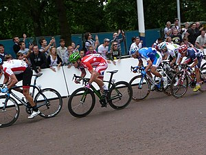 London–Surrey Cycle Classic - Image: London Surrey Cyle Classic Sprint Finish