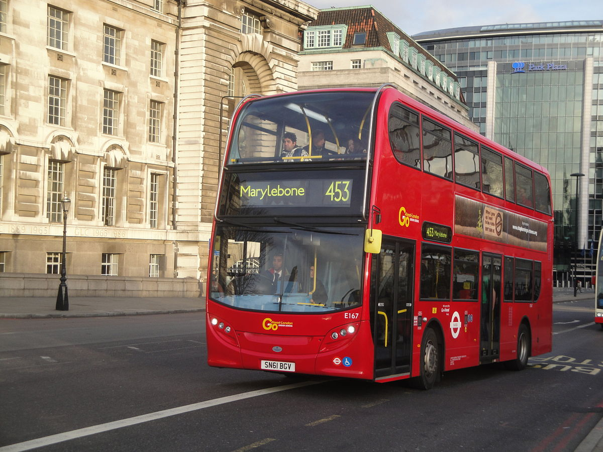 Mercedes Benz Westminster >> London Buses route 453 - Wikipedia