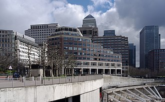 15 Westferry Circus - Image: London MMB P5 Westferry Circus