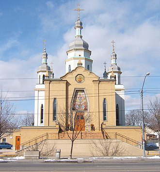 Long Branch, Toronto - Ukrainian Orthodox Church on Lake Shore Blvd. West