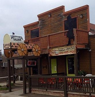 Caroline, Alberta - Longbranch Saloon