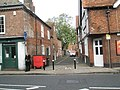 Looking from Bridge Street into Water Lane - geograph.org.uk - 1540856.jpg