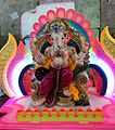 Lord Ganesha Images - An large sized image of Lord Ganesha on display at a Ganesh Chaturthi shop.jpg