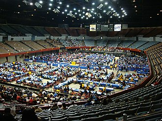 Los Angeles Memorial Sports Arena - Los Angeles Memorial Sports Arena in January 2011
